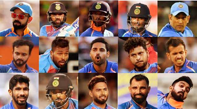 Is this India's final World Cup squad?
