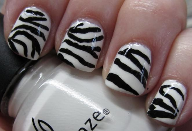 Decorating Nails With Animal Print Cute Nail Designs Big Solutions