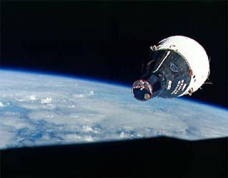 Gemini mission capsule.