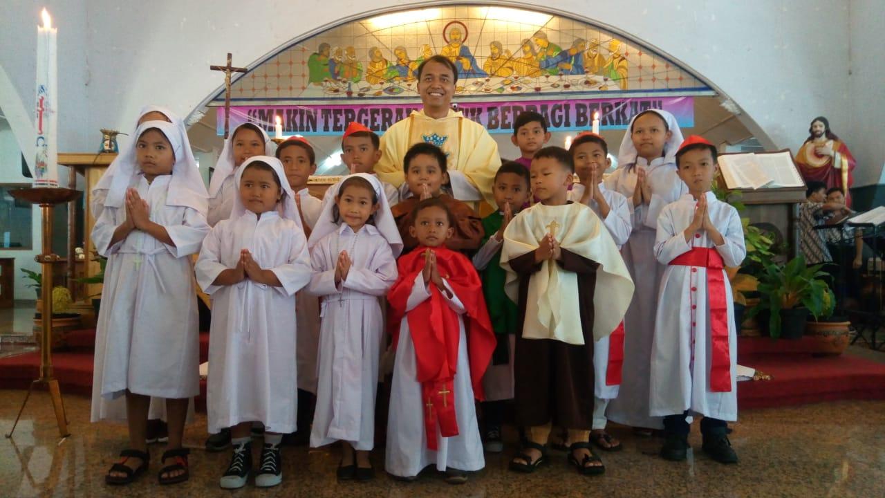 Minggu Panggilan di Paroki Santa Perawan Maria Regina Purbowardayan Surakarta