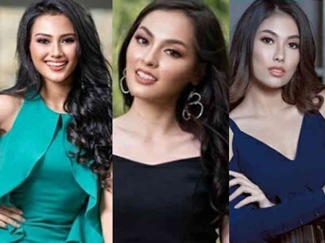 Jesica Martasari, Joline Rotinsulu dan Federika Alexis Cull 3 Besar Putri Indonesia 2019