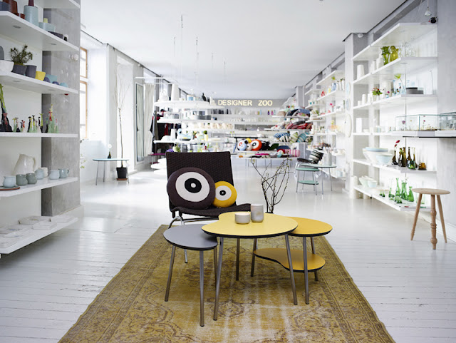 Designer Zoo, a shop and workshop space in Vesterbro, Copenhagen