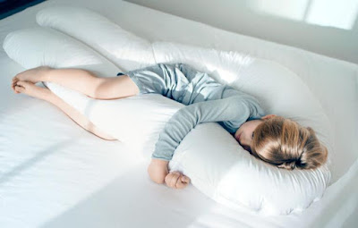 Awesome Giant U Shaped Total Full Body Support Pillow