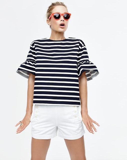 bell-sleeve-striped-tee
