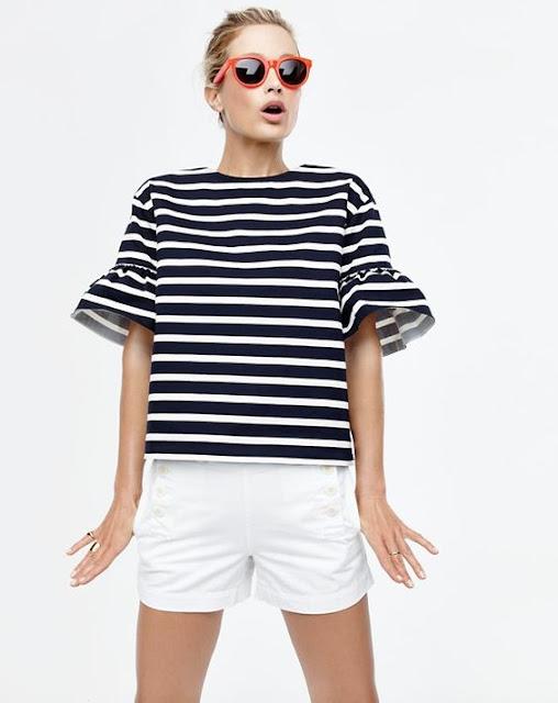 bell-sleeve-striped-tee