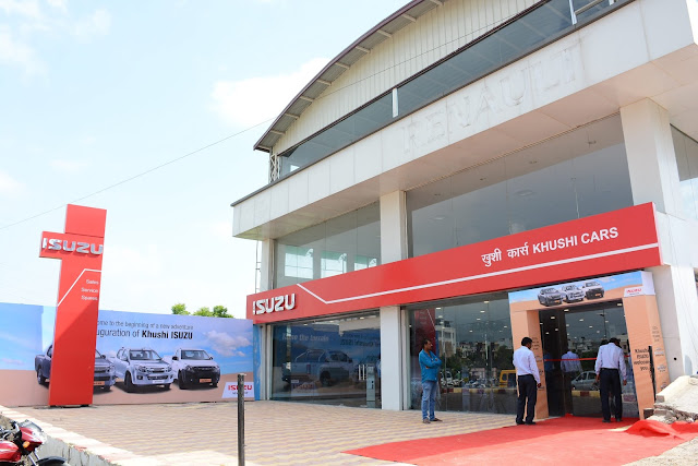 Isuzu Motors India launches the new ISUZU D-MAX V-Cross, India's First Adventure Utility Vehicle, in Rajasthan