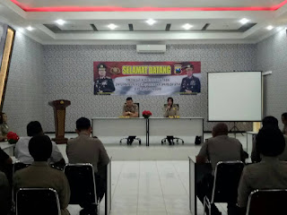 Tim Evaluasi Kompetisi Hasil Diktukba SPN Mojokerto Datang ke Bojonegoro