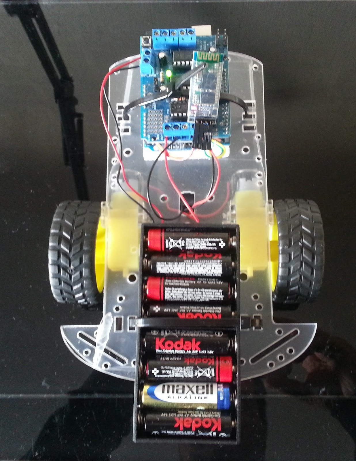Alictronix android app controlled wd rc robot platform