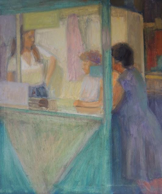 obra de arte impresionista tienda pintor aragonés Jesús Sus