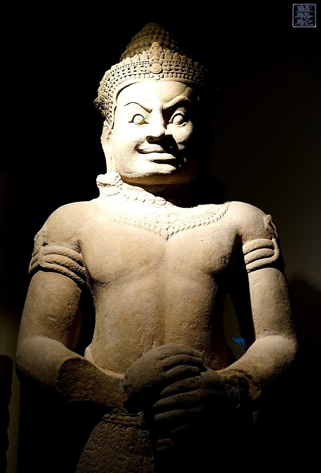 Le Chameau Bleu - Statue Khmere - Musée Guimet