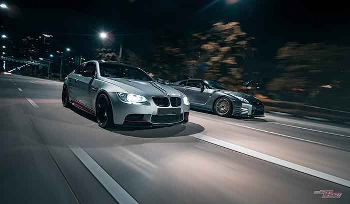 Here Is The Shoot Summary. Theme: Urban City. Car: 2009 Nissan GTR R35 V6 U0026 BMW  M3 E92 V8 Owners: Darren U0026 Jamie