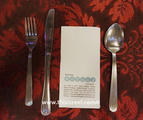 Segmen Makan Di Mana? Restoran Rebung Dato' Chef Ismail Bangsar