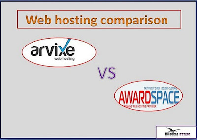 Web hosting comparison | Arvixe vs Awardspace