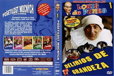 Carátula dvd: Delirios de grandeza 1971