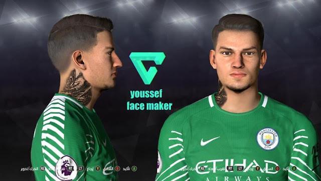 Ederson Moraes New Face PES 2017