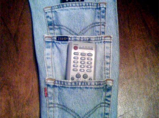 DIY ideas para guardar los mandos de la televisión