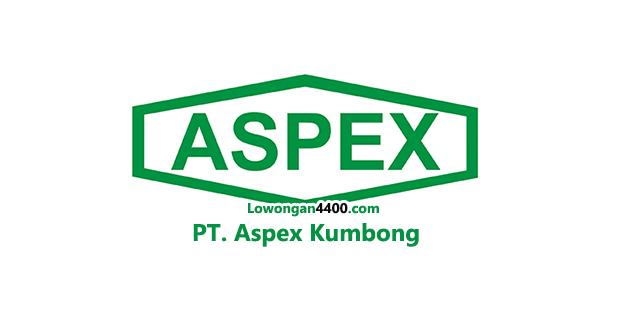 Lowongan Kerja PT. Aspex Kumbong Cileungsi 2019
