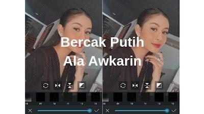 Cara Edit Foto Bintik Noise/Bercak Putih Ala Awkarin