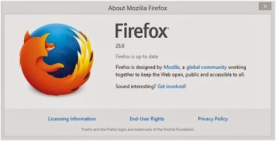 Firefox 25