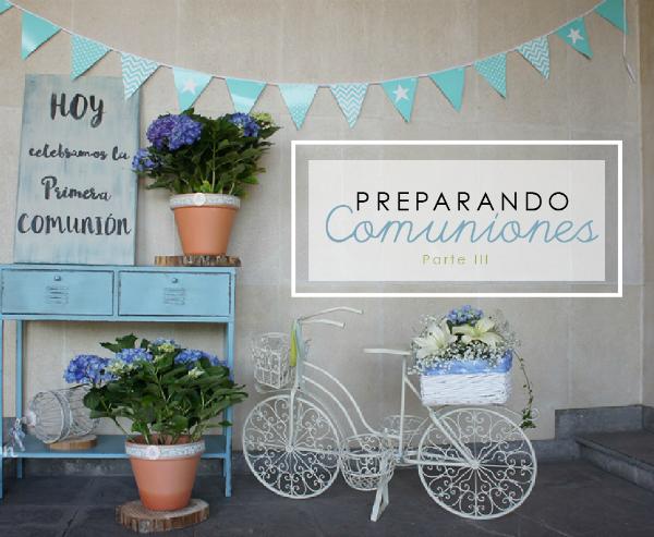 Cómo organizar una comunión, parte III by Habitan2 | Decoración handmade para hogar y eventos | Fiestas personalizadas