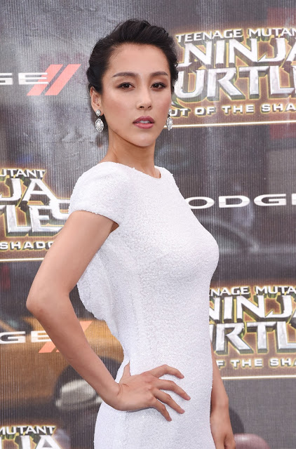 Actress, @ Jane Wu - 'Teenage Mutant Ninja Turtles: Out of the Shadows' Premiere in NYC