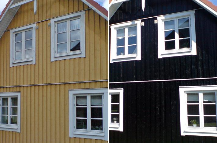 unser schwedenhaus von skagen gelb zu schwarz amalie loves denmark. Black Bedroom Furniture Sets. Home Design Ideas
