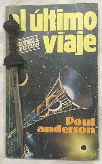 Portada del libro El último viaje, de Poul Anderson