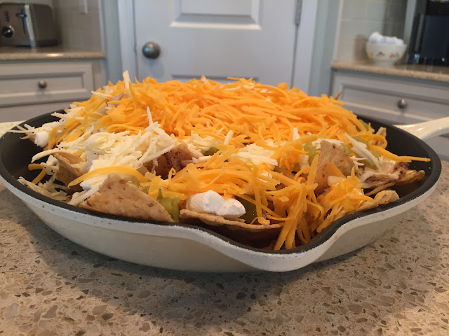 Grilled (or baked) Nachos.  These are the perfect game day food... crowd pleasing and so easy to make | The Lowcountry Lady