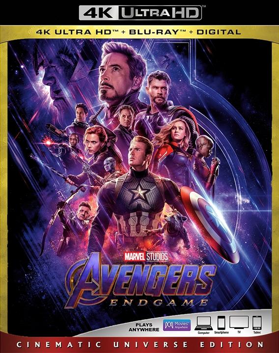 Avengers: Endgame (2019) 4K Ultra HD Blu-ray Review
