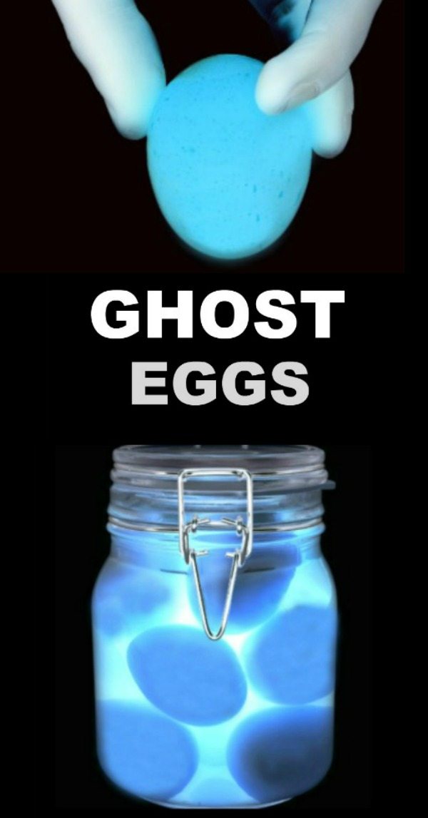 FUN KID PROJECT: MAKE GHOST EGGS (spooky science for kids) #ghosteggs #scienceexperimentskids #eggexperimentsforkids #eggexperiments