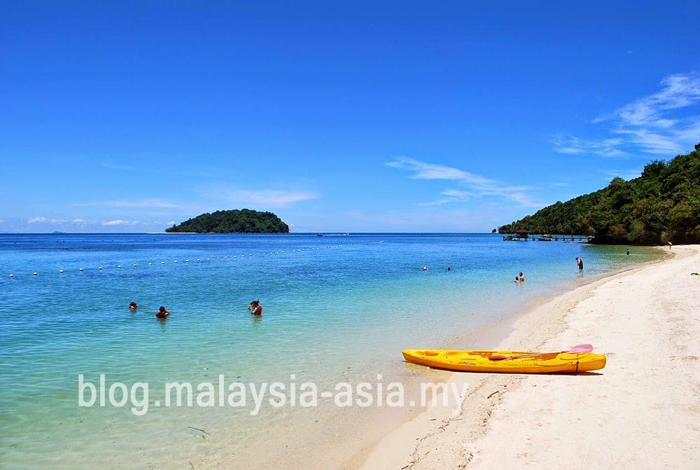 Sabah Best Beach Manukan Island