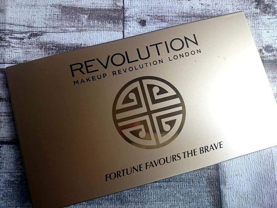 Makeup Revolution, Fortune Favours the Brave Palette, British Beauty Blogger, Review