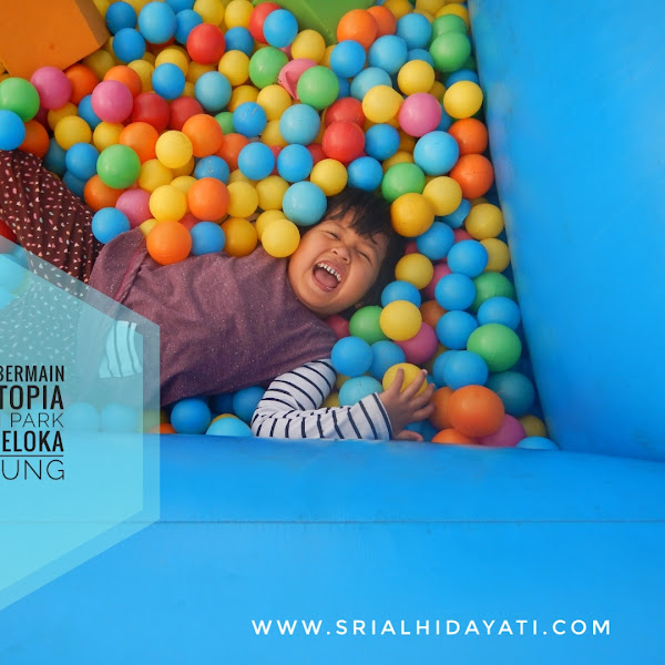 Gembira Bermain di Funtopia Ballon Park by Traveloka Bandung