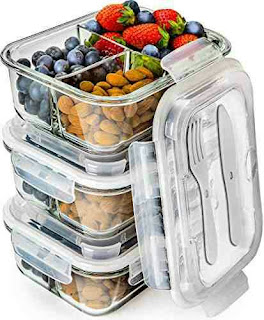 Food Storage Boxes - Meal Prep Containers with Lids