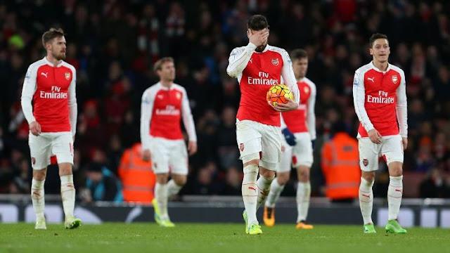 Arsenal kalah