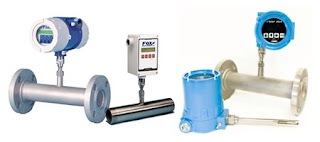 thermal mass flow meters