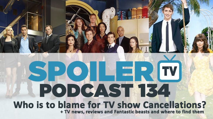 STV Podcast 134 - Who is to blame for TV Show Cancellations