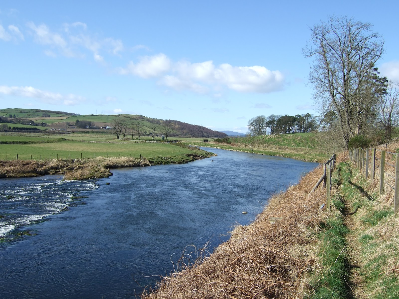 Dee Amp Don Salmon Fishing River Don Lower Fintray