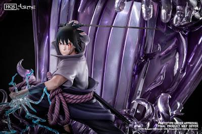 Sasuke Uchiha llega en una impresionante estatua HQS de Tsume.