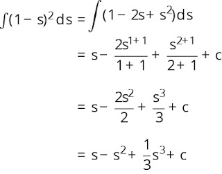 Pembahasan soal integral nomor 5