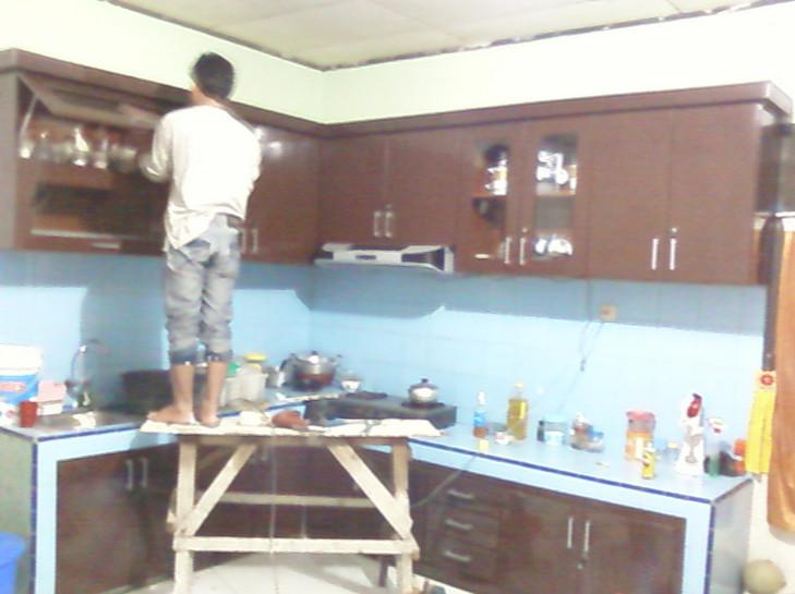 Cara Membuat Lemari Dapur Sendiri Desainrumahid com