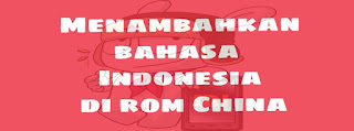 Bahasa Indonesia di rom china
