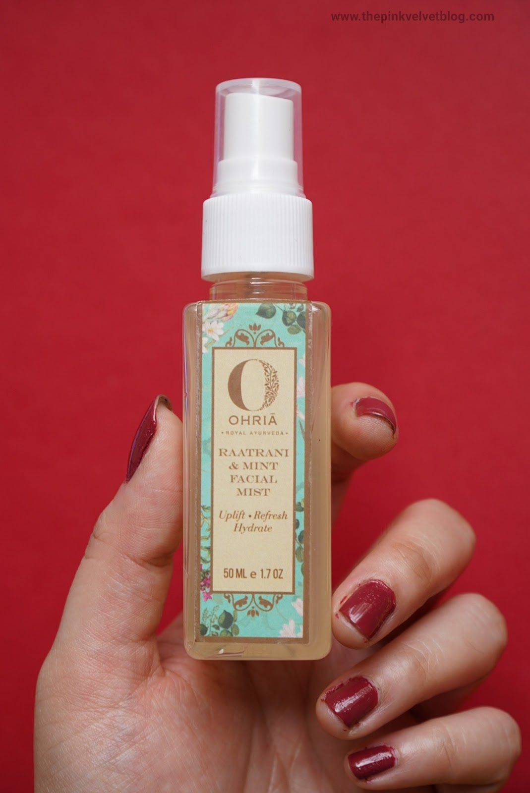 The Sensational Six September FAB BAG - Ohria Raatrani and Mint Facial Mist