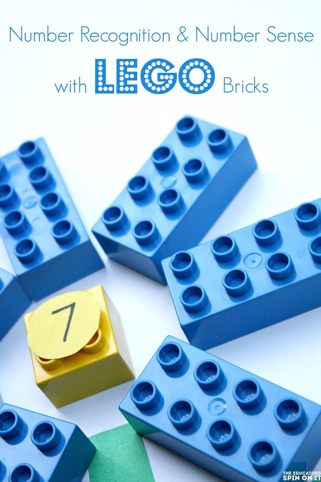 LEGO math garden