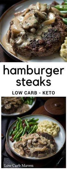 Hamburger Steak And Gravy Recipe