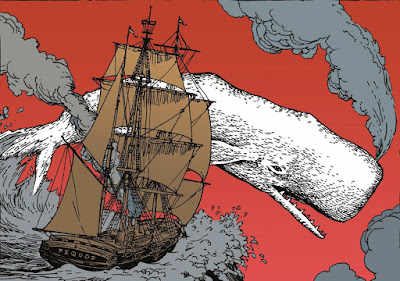 Moby Dick in Illustration
