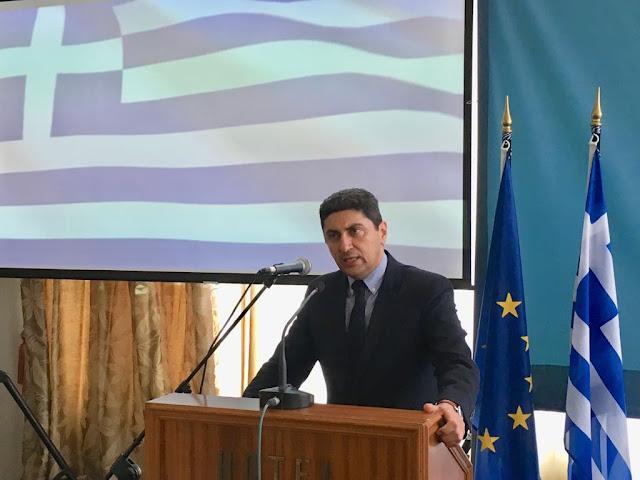 Πρέβεζα: Αυγενάκης σε εκδήλωση της ΝΟΔΕ Πρέβεζας στην Πρέβεζα - «Η Χώρα χρειάζεται µία αφοσιωμένη Κυβέρνηση που θα υλοποιήσει ένα τολμηρό σχέδιο αλλαγών»
