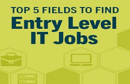 Top 5 entry-level IT jobs for new grads