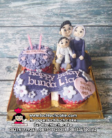 Cupcake Ulang Tahun Tema Family