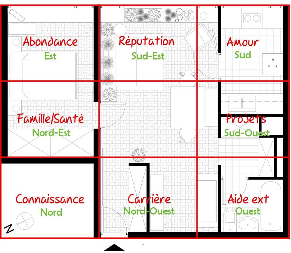 le feng shui chez moi partie 3. Black Bedroom Furniture Sets. Home Design Ideas